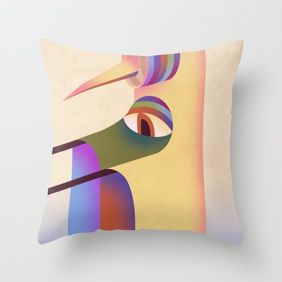 Figure #1 Throw Pillow