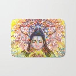 Sunflower Shiva Bath Mat