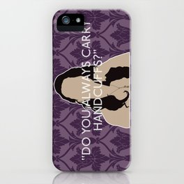 The Sign of Three - Janine iPhone Case