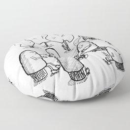 Million dollar print Floor Pillow