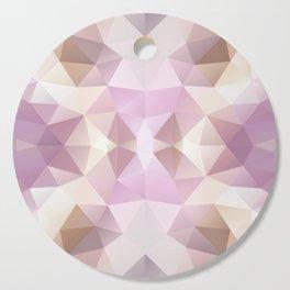 Mozaic design in soft purple colors Cutting Board