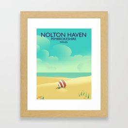 Nolton Haven Pembrokeshire Wales Framed Art Print