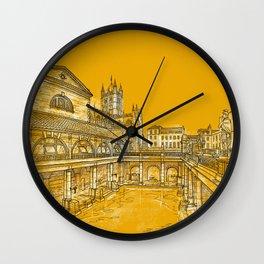 City Of Bath  Wall Clock