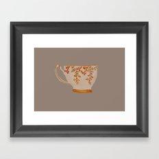Teacup Framed Art Print