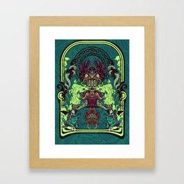 Poison dart Framed Art Print