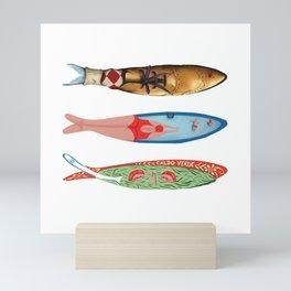sardinhas 6 Mini Art Print
