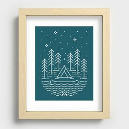 Starry Night Recessed Framed Print
