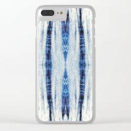 Nori Blue Clear iPhone Case