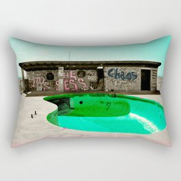 Chaos Poolside Rectangular Pillow