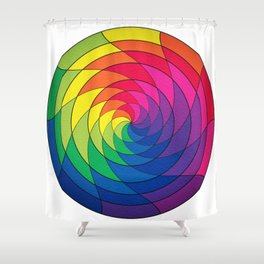 Pride Mandala Shower Curtain