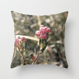 Blossom Burst Throw Pillow