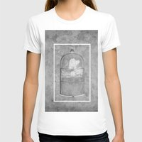 cage T-shirts featuring Cloud Cage by Mehdi Elkorchi