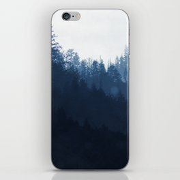 Blue Forest iPhone Skin