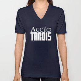 Accio Tardis Unisex V-Neck
