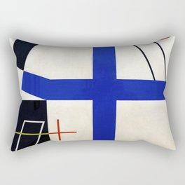 Sophie Taeuber Arp Broken Cross Rectangular Pillow