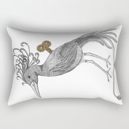 Wind-Up Bird Rectangular Pillow