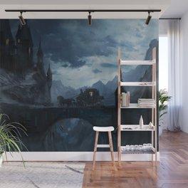 Dark castle Wall Mural