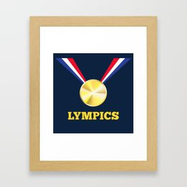 Lympics Framed Art Print