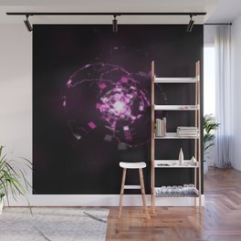 Electronic Sparkle Wall Mural