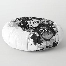 Surveillance  Floor Pillow