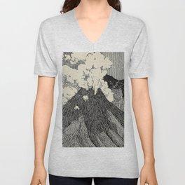 Naturalist Volcano Unisex V-Neck