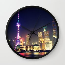 Shanghai, China Wall Clock