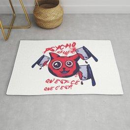 Psycho Killer Cat Rug