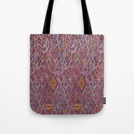 abstract pink pattern Tote Bag