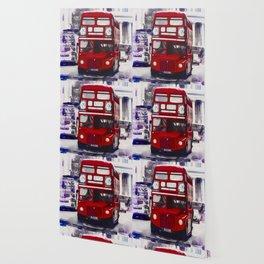 London Red Bus Wallpaper