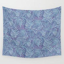 stormy seas Wall Tapestry