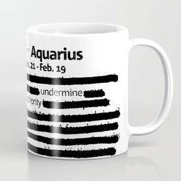 Aquarius 1 Coffee Mug