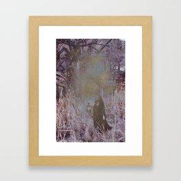 Fine Line Between Dreams and Nightmares Framed Art Print