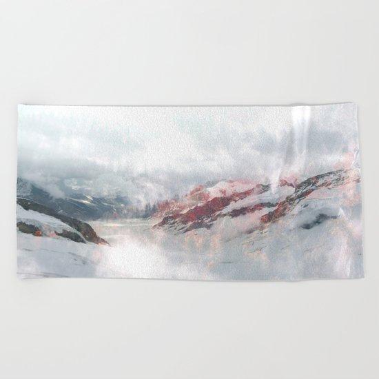 Foggy Dreams Beach Towel