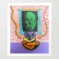 Dial M for Mekon  Art Print