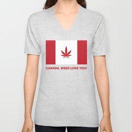 Canada legalization Unisex V-Neck