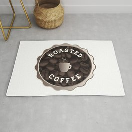 Roasted Coffee Sign Rug