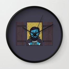 Cortázar Wall Clock