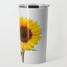 Sunflower Still Life Travel Mug