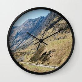 Roads to Explore Wall Clock