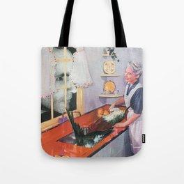 House Manson Tote Bag
