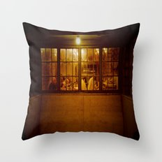 The Regulars Throw Pillow