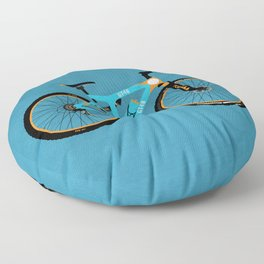 Mountain Bike Floor Pillow