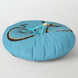 Mountain Bike Floor Pillow