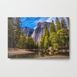 Mighty Mountains Metal Print