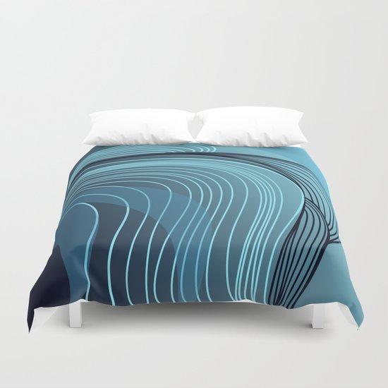 serie acqua: ocean waves Duvet Cover