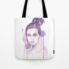 GIRL, WATERCOLOUR Tote Bag