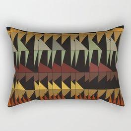 Dibon - Earth Tones Rectangular Pillow