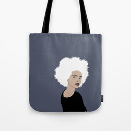 Curly Beauty Tote Bag