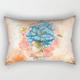 The Lady Isabella Rectangular Pillow