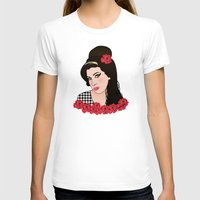 amy hamilton T-shirts featuring Amy  by Pendientera